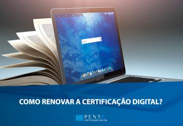 Notebook e livro aberto | como renovara certificação digital